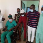5 - UGDO-FRANCE( VP Cyprien BOKO, Adeline, PRH Christophe CHODATON) et le personnel des Services Communs des Urgences